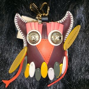 BURBERRY LEATHER OWL